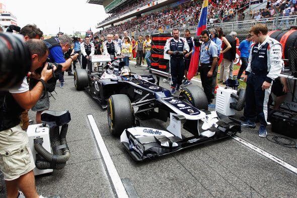 La escudería Williams no saboreaba una victoria desde 2004.