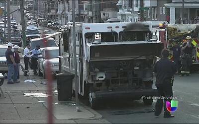 Un carro de comida explotó en Pennsylvania dejando varios heridos
