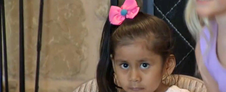 Michelle, la niña boliviana que sobrevió a cuatro cirugías.