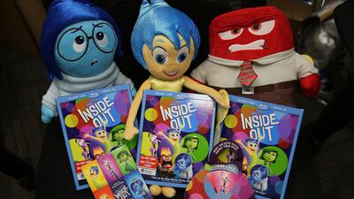 Regalos de 'Inside Out'
