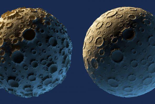 Urano también está rodeado por varios satélites. Ar...
