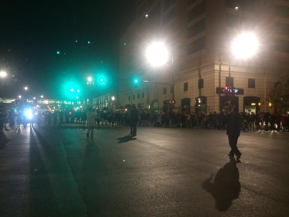 Imágenes de la marcha por Laquan McDonald en Chicago