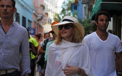 """Así festejó su cumpleaños la """"Material Girl"""" en Cuba"""