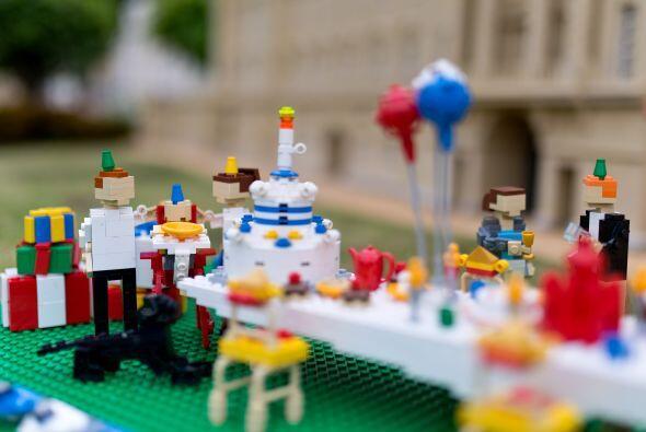 Se exhibió en el parque de diversiones Legoland Windsor, ubicado en Wind...