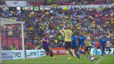Gran Atajada de Cota que salvó al Puebla del primer gol de América