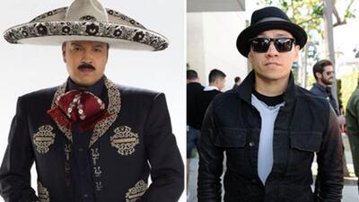 Taboo, de los Black Eyed Peas está trabajando con Pepe Aguilar en los ar...