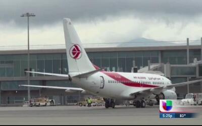 Se estrella en suelo africano avión de Air Algerie