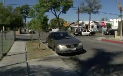 El sospechoso ha sido visto en el este de Los Ángeles