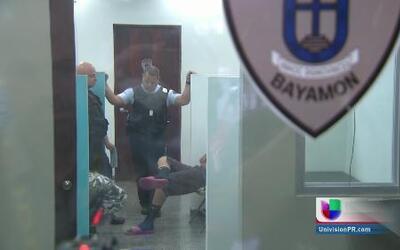 Menores detenidos por intentar entrar a un complejo de viviendas