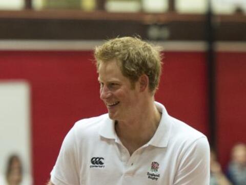 El príncipe Harry aprovechó su visita en Suffolk para ejer...