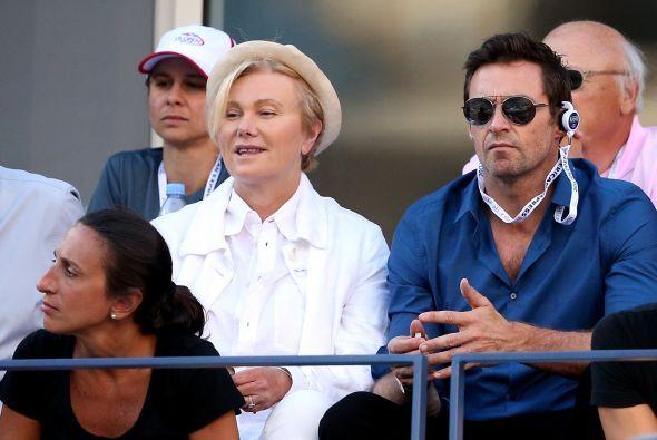 Hugh con su esposa, Deborra Lee Furness. Mira aquí lo último en chismes.