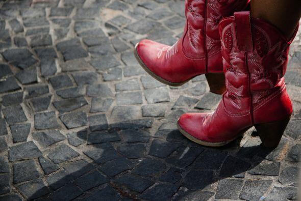 Cowboy boots. ¡Parece que las botas nunca pasarán de moda!