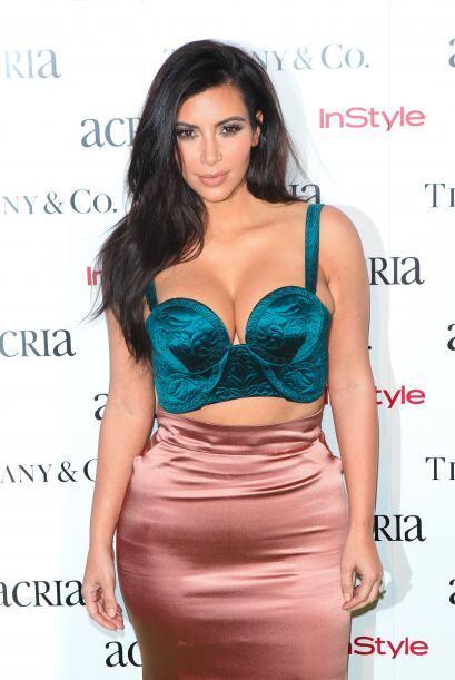 Posó súper guapa y segura de si misma ante las cámaras. Sin duda Kim se...