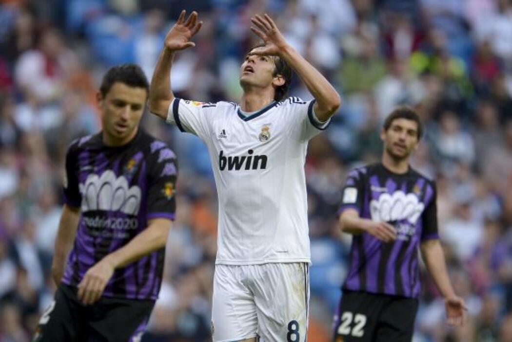 Kaká anotó el 3 a 2 que colocó al Real Madrid en la senda del triunfo.