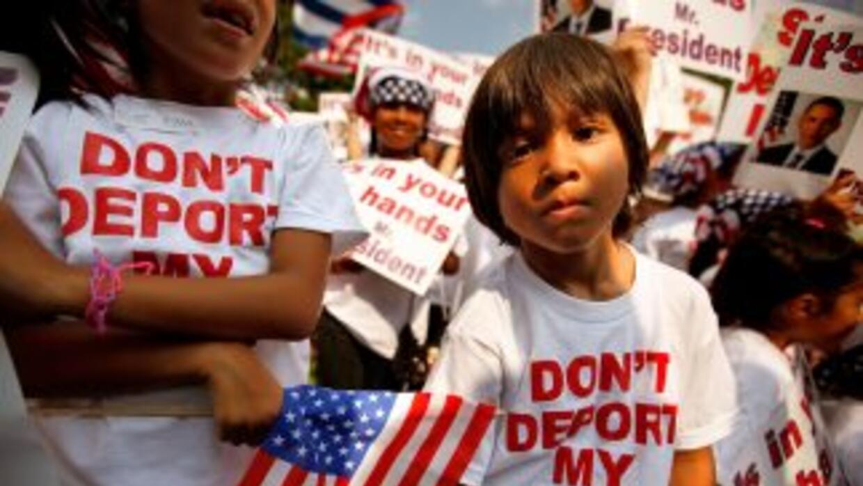 El 61 por ciento de los inmigrantes de Estados Unidos piensa que la disc...