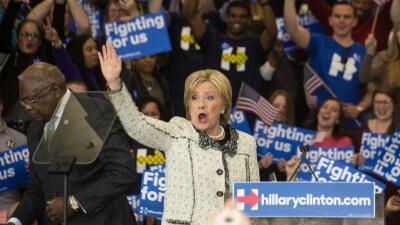 """Clinton: """"Mañana esta campaña se vuelve nacional"""" clintonnnnnn.jpg"""