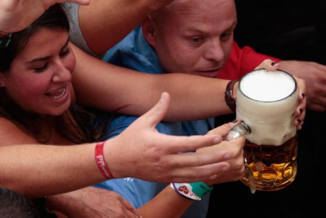 Llegó la hora de celebrar el Oktoberfest en Alemania.