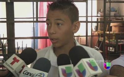 Ernesto, el niño salvadoreño que habló con el Papa