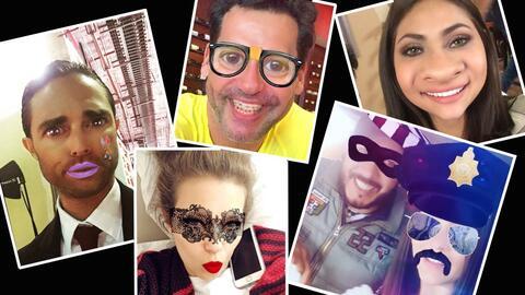 Actores de novela en Snapchat