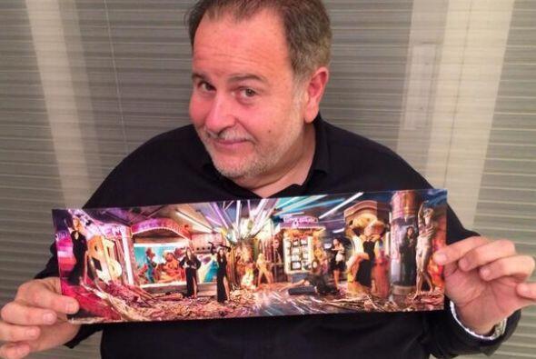 Raúl de Molina recibió la postal de la familia Kardashian, ¡muy V.I.P.!