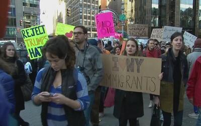 Mujeres marcharán tras juramentación de Trump para demostrar que están u...