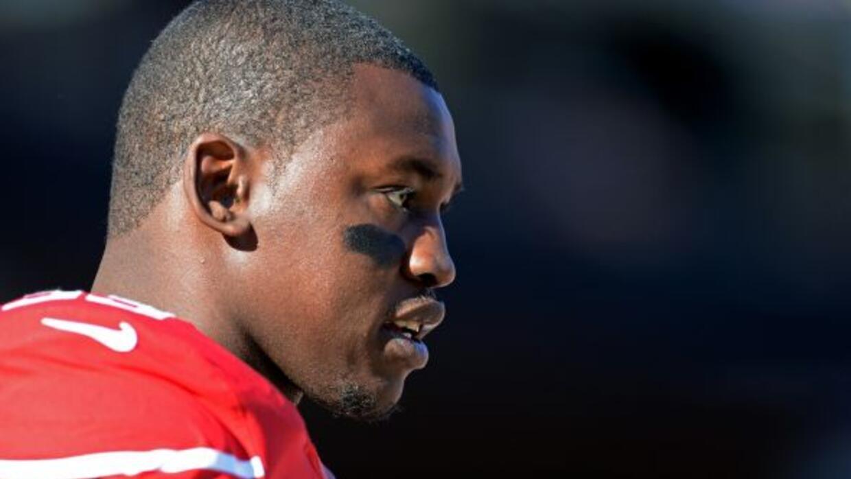 """El apoyador de los 49ers en el """"Ojo del Huracán"""" (AP-NFL)."""