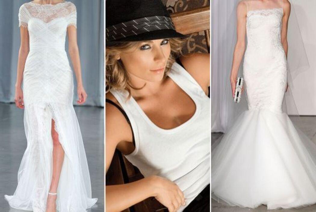 Aquí te dejamos una recopilación de diferentes vestidos de novia que que...