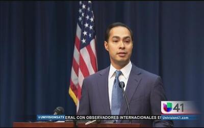 Julián Castro habla sobre su nuevo puesto en el gabinete