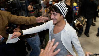 Adán Cortes volvió deportado de Noruega a México