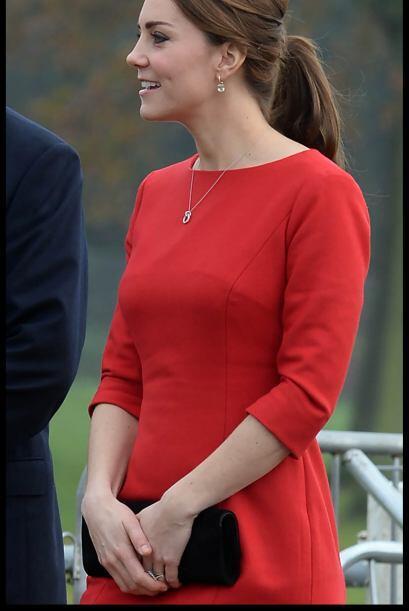 Algunos medios publicaron, que Middleton no pudo contener el llanto.