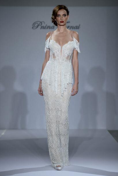 Pnina Tornei es una de las diseñadoras de vestidos de novia más buscada...