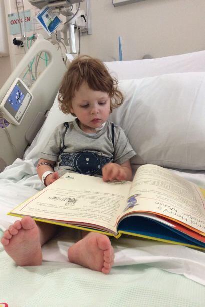 Drew, fue diagnosticado con anemia blackfan, que le impide a su cuerpo p...