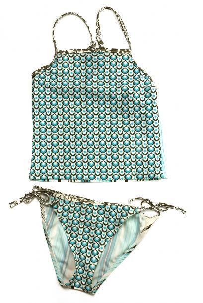 Tankini. Especialistas en moda coinciden en que el traje de baño de dos...