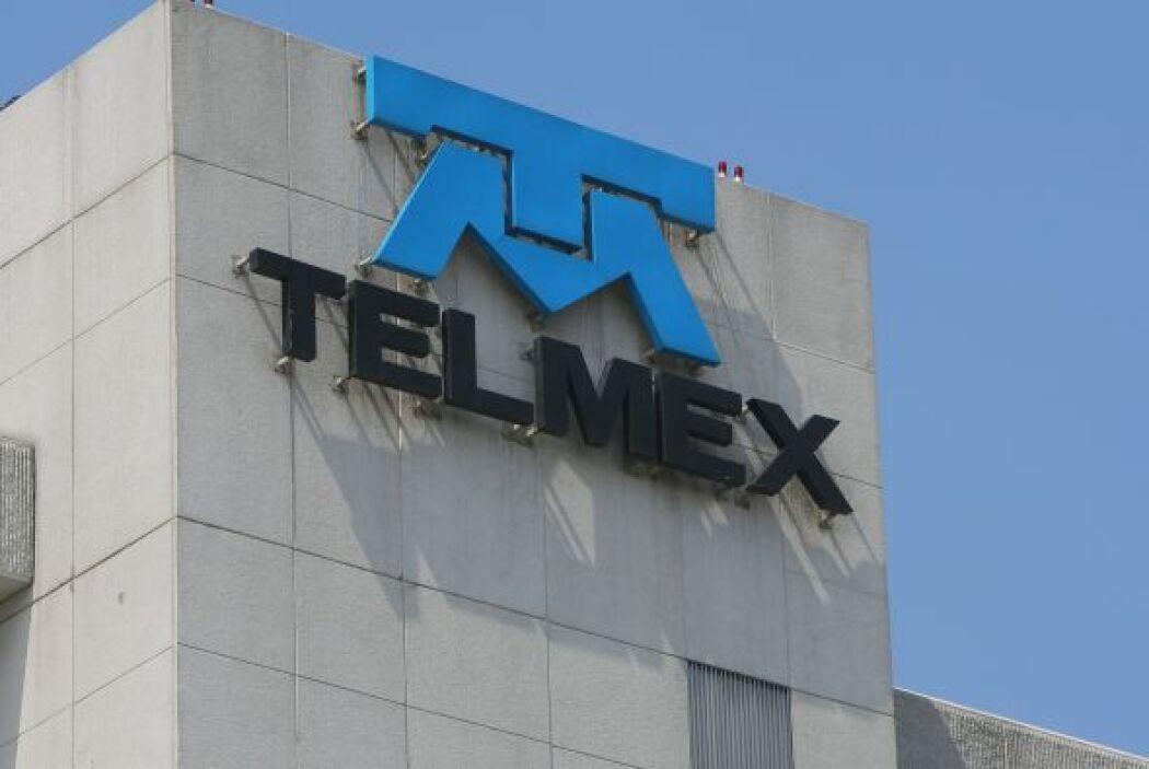 3.- Telmex tiene un valor de 3,573 millones de dólares.