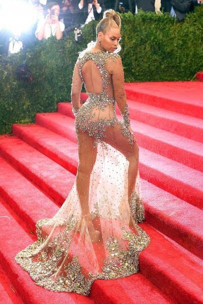 Beyoncé sí que desata suspiros y gritos con ese cuerpazo.