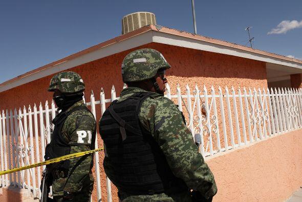 El despliegue militar en Ciudad Juárez para la lucha contra el crimen or...