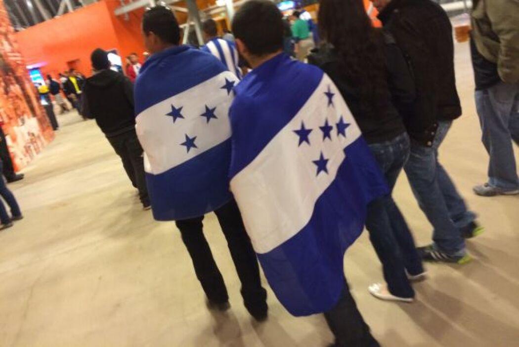 Ecuador vs. Honduras en Houston