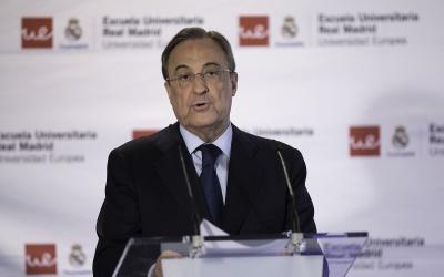 El Presidente de Real Madrid habló sobre el caso de David de Gea.