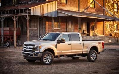 Ford F-350 Super Duty King Ranch 2017
