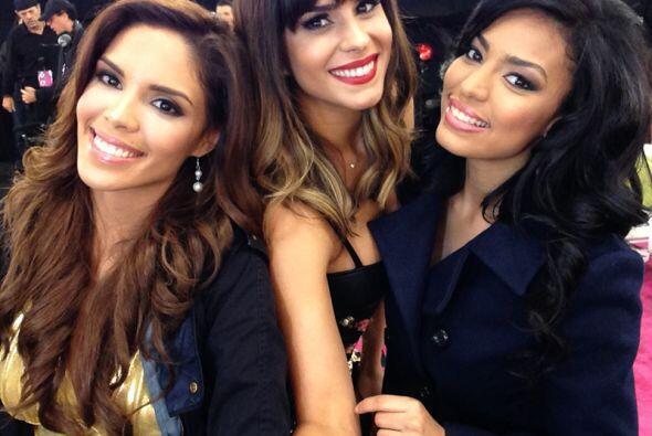 Por supuesto que hubo #selfies en la primera gala de Nuestra Belleza Lat...