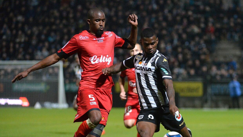 Angers empató con Guingamp