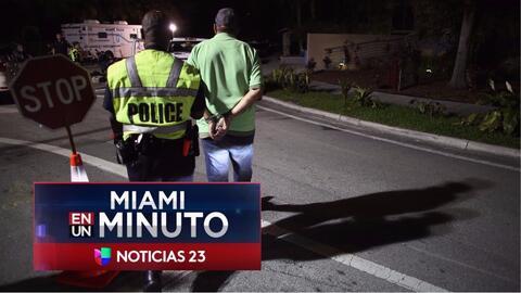 'Miami en un Minuto': capturan a un hombre que presuntamente atacó a un...