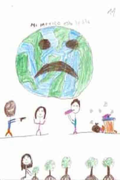Los niños piden que esta realidad que los rodea, cambie. Cortesía de la...