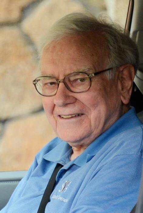 Buffet, como Bill Gates, también se ha destacado por sus labores altruis...