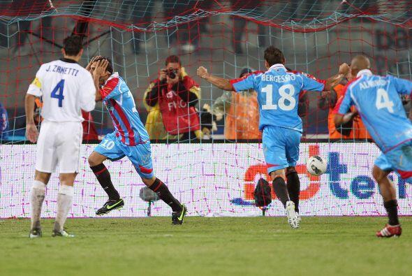 Francesco Lodi marcó el 2 a 1 y desató la alegría d...