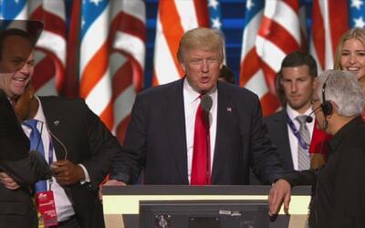 Divisiones al interior del partido republicano por nominación de Donald...