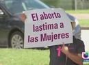 Activistas contra el aborto