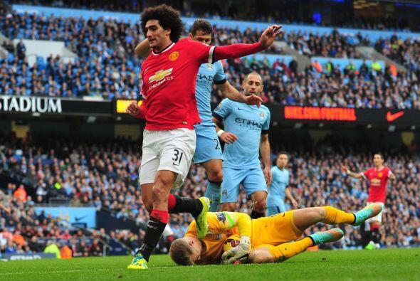 Los ataques del United en busca del empate eran más intentos dese...