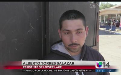 Ayuda para damnificados del incendio en el condado de Lake