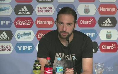 "Gonzalo Higuaín: ""Este grupo merece llegar a la final"""